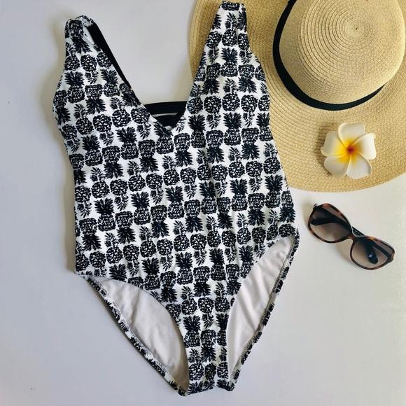 7aada7a6442b Shade & Shore Swim | Shade And Shore Pineapple One Piece Bathing ...